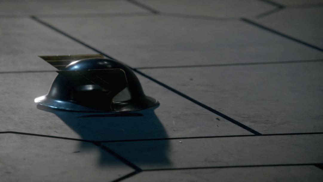 Casco del primer Flash (Jay Garrick).