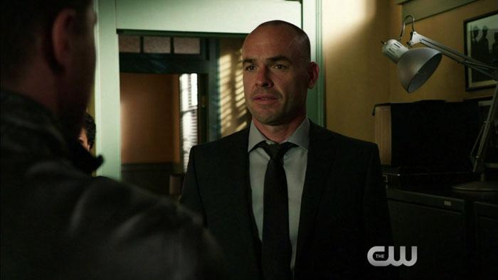 Quentin Lance, gran protagonista del episodio y principal candidato a ocupar una tumba