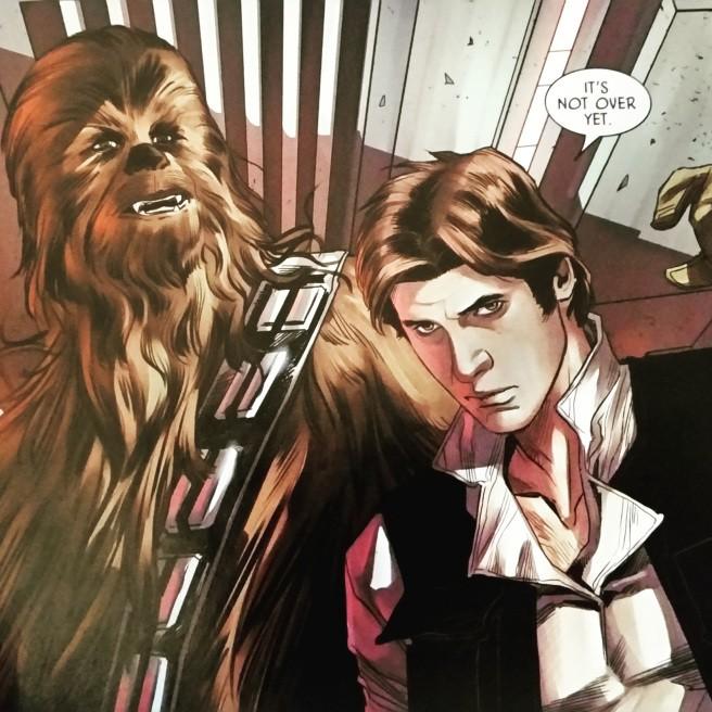 Han Solo Imperio destruido