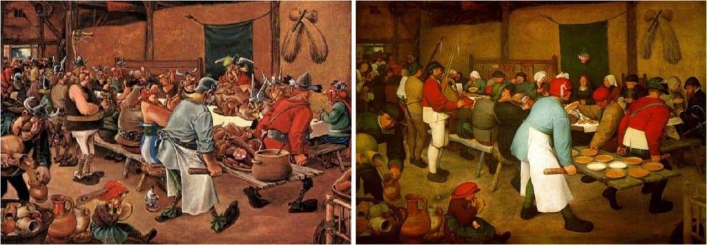 Peter Brueghel el Viejo boda campesina