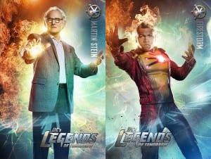 """Martin Stein (izquierda) y Jefferson """"Jax"""" Jackson, como Firestorm (derecha)."""