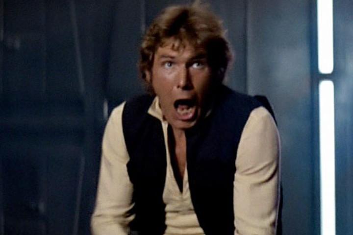 Han Solo ante la idea de regresar en el episodio VIII