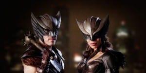 Hawkman y Hawkgirl.