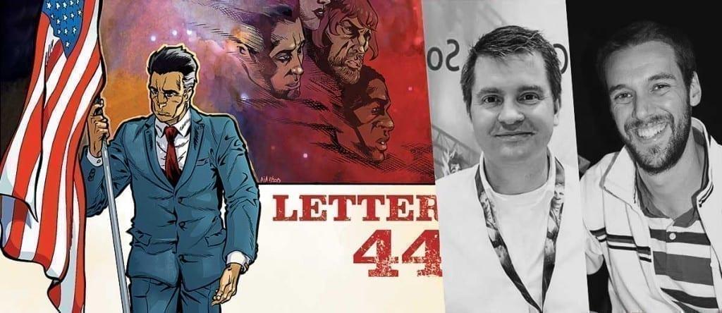 Charles Soule y Alberto Jiménez Alburquerque, creadores de La carta 44