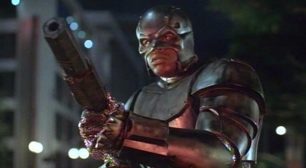 Shaquille O'Neal aparecía de esta guisa en el film Steel