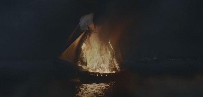 El barco señuelo luce espectacular