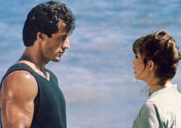ROCKY III, Sylvester Stallone, Talia Shire, 1982, (c)MGM