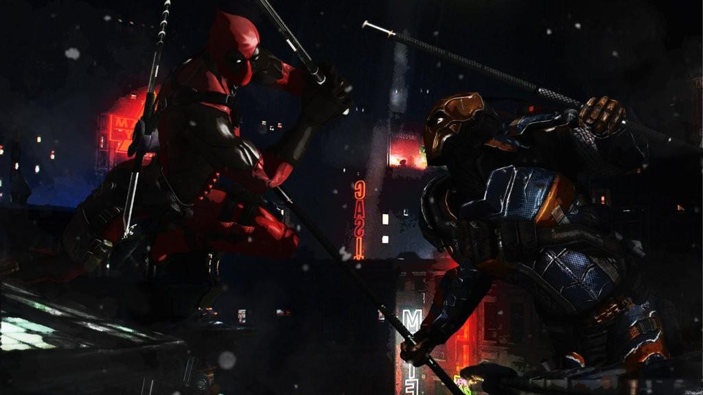Deadpool Vs Deathstroke.
