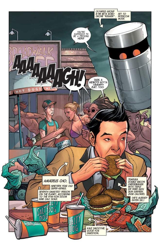 Amadeus Cho, el nuevo Hulk