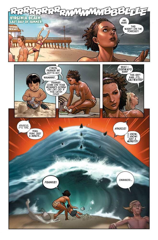 Chicas en bikini en la primera página demuestran que no son tontos y que molan