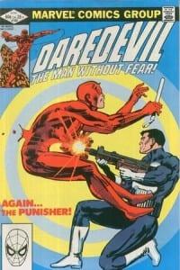 Daredevil #183. Por Frank Miller.
