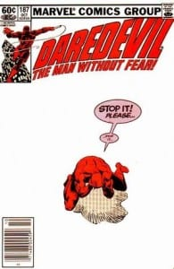 Daredevil #187. Por Frank Miller.