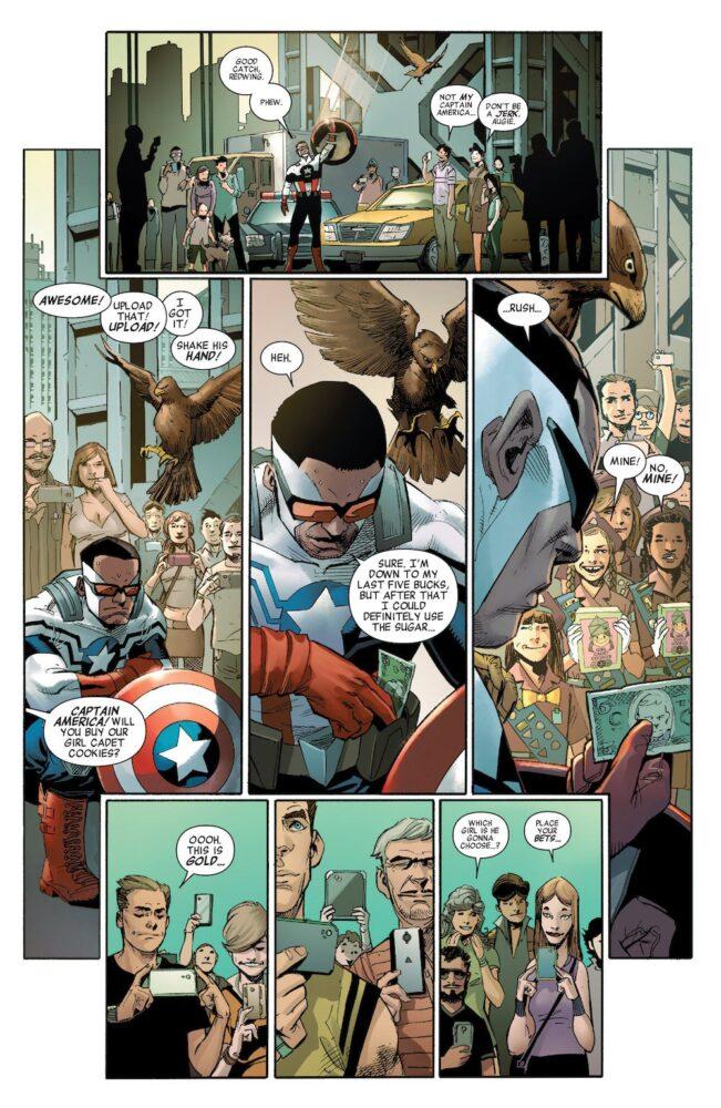 El Capitán América, de lo mejor del cómic