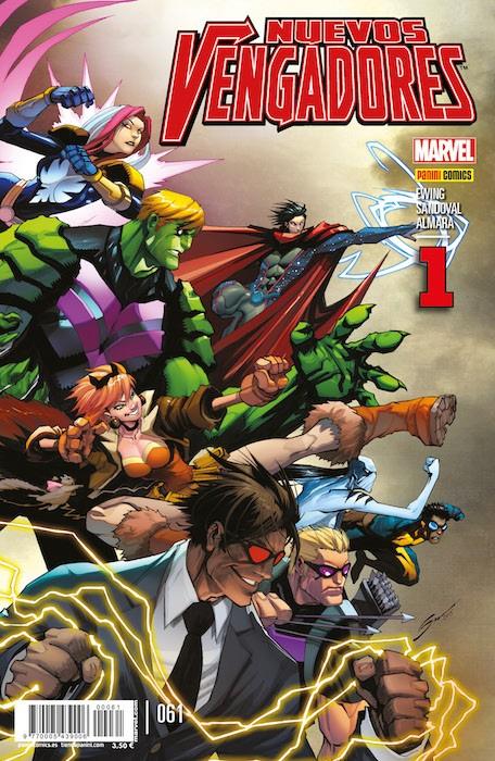 Los Nuevos Vengadores portada