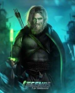 Green Arrow de esta realidad futurista.