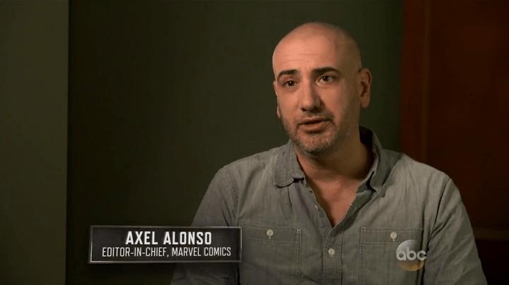 Axel Alonso, máximo responsable del actual desaguisado