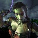 Garona en una de las imágenes promocionales del Warcraft III