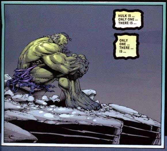 En el futuro, tan sólo Hulk, las cucarachas y Felicity quedarán en el mundo
