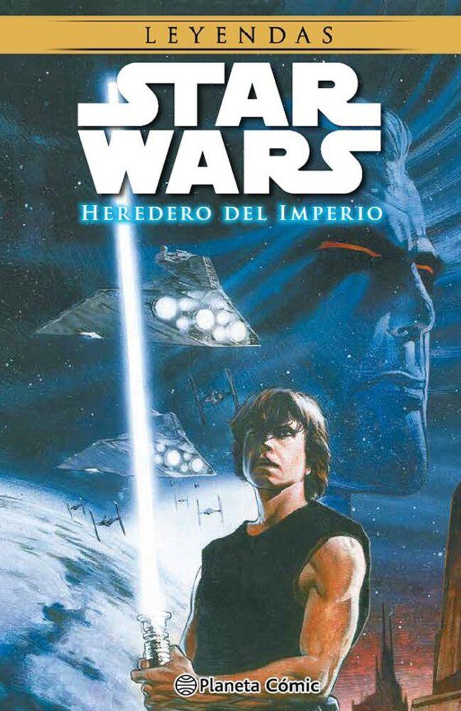 Portada de Star Wars Heredero del Imperio, el cómic