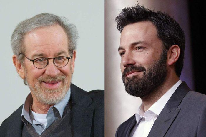 Steven Spielberg y Ben Affleck