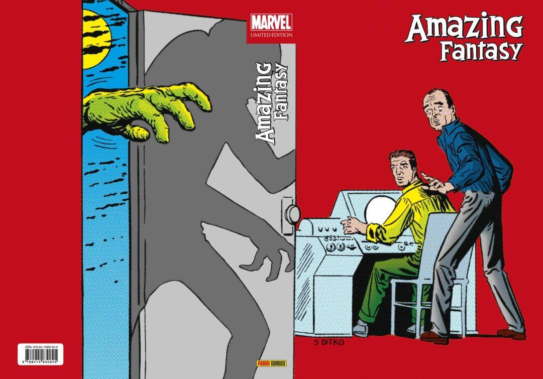 Portada de Marvel Limited Edition. Amazing Fantasy
