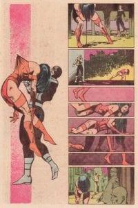 Página de Daredevil #181. Por Frank miller.