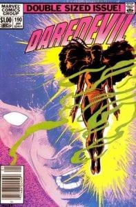 Daredevil #190. Por Frank Miller.
