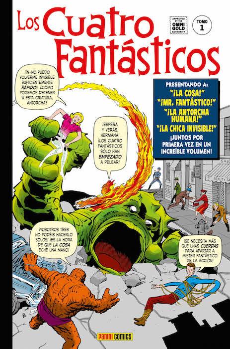 Marvel Gold Los 4 fantásticos 1