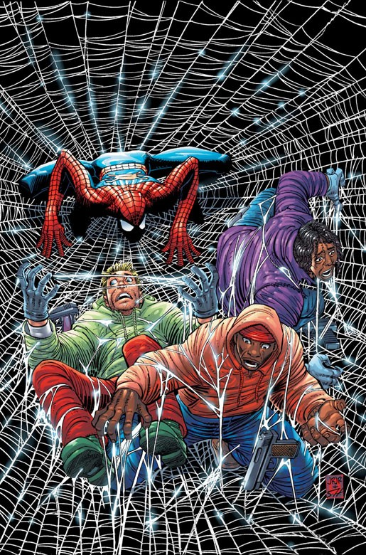 amazing spiderman portada cosas felices