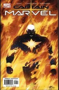 Portada de Captain Marvel Vol.4 #01 (02). Por ChrisCross y Chris Sotomayor.