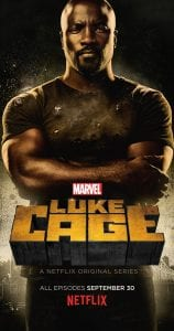 Cartel oficial de la serie Luke Cage.