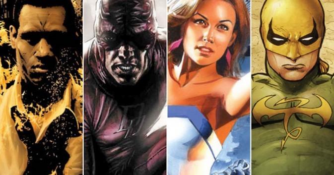 Los futuros Defensores del Universo Cinematográfico de Marvel.