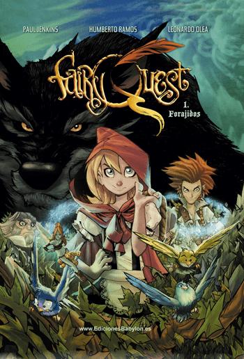 Fairy Quest, de Paul Jenkins y Humberto Ramos