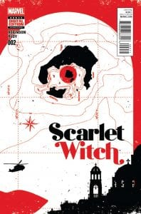 Scarlet Witch Vol 2 #2. Por David Aja.