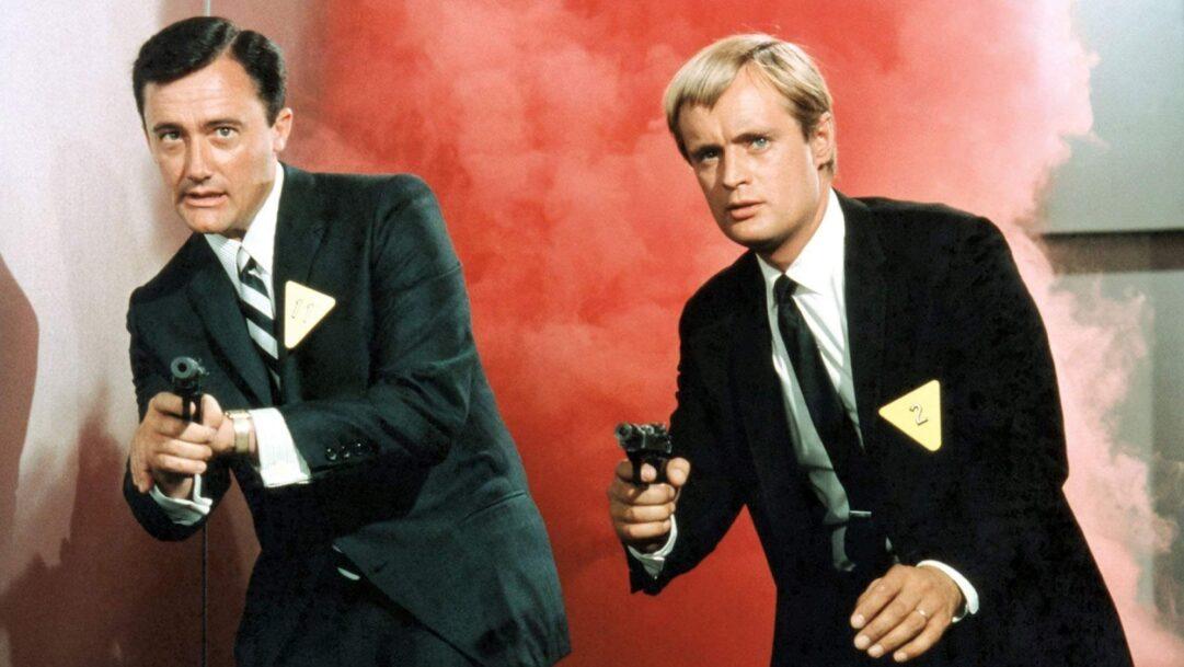 Robert Vaughn y David McCallum fueron Napoleón Solo y Illya Kuryakin en la serie The Man from U.N.C.L.E., El agente de C.I.P.O.L. en España