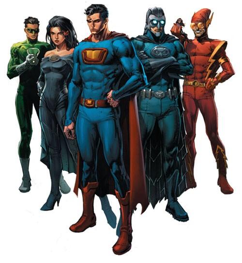 La malvada Liga de la Injusticia de Tierra 3