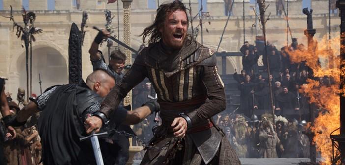 Michael Fassbender como Aguilar, el Assassin protagonista