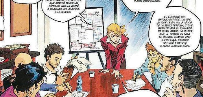 Las investigaciones de Amaia y sus compañeros