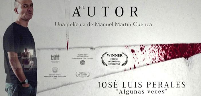 Póster de El autor, 2017