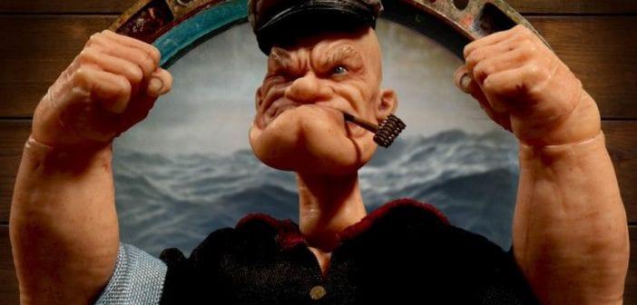 Mezco Toys lanzará próximamente su nueva figura de Popeye