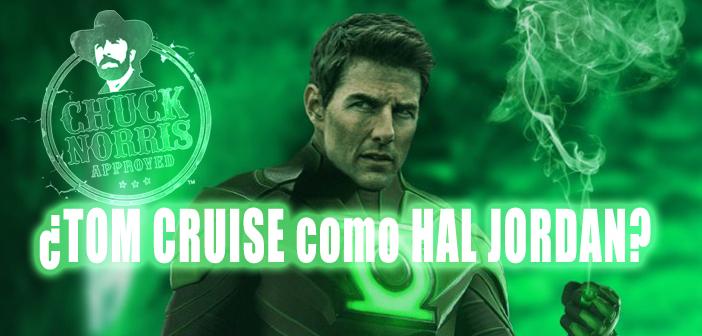 Tom Cruise como Green Lantern. ¿Descartamos una película de origen?