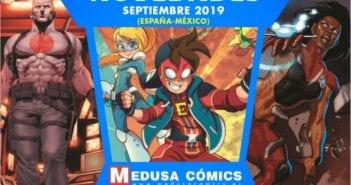 Novedades Medusa Cómics Septiembre 2019