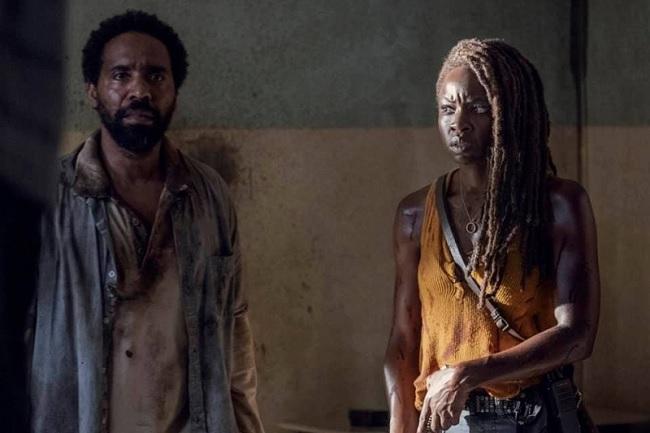 Virgil y Michonne
