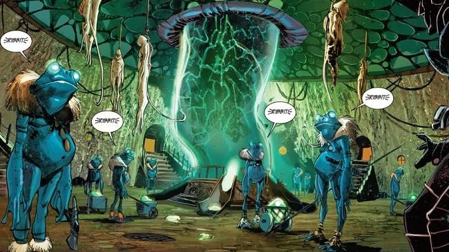 ¿Una dimensión de Sapos humanoides? Estoy y mucho más en Ciencia Oscura
