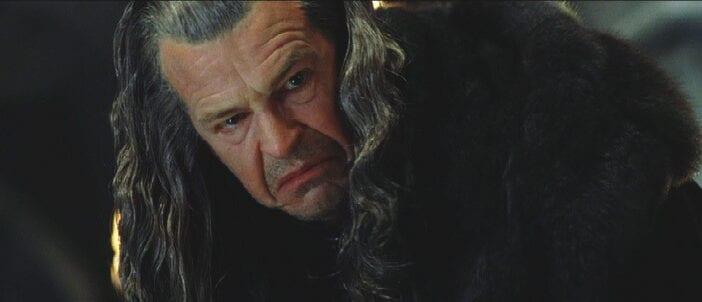 Rey de Personajes despreciable de proporciones bíblicas. Todas su acciones son despreciables a lo largo del Film, nada que rescatar.